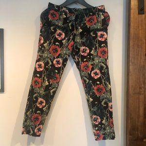 Flower H&M pants
